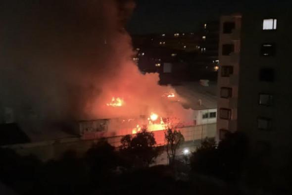 火事 中村 区