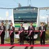 次世代ステンレス車両「サスティナ」完成、総合車両製作所と東急電鉄が ...